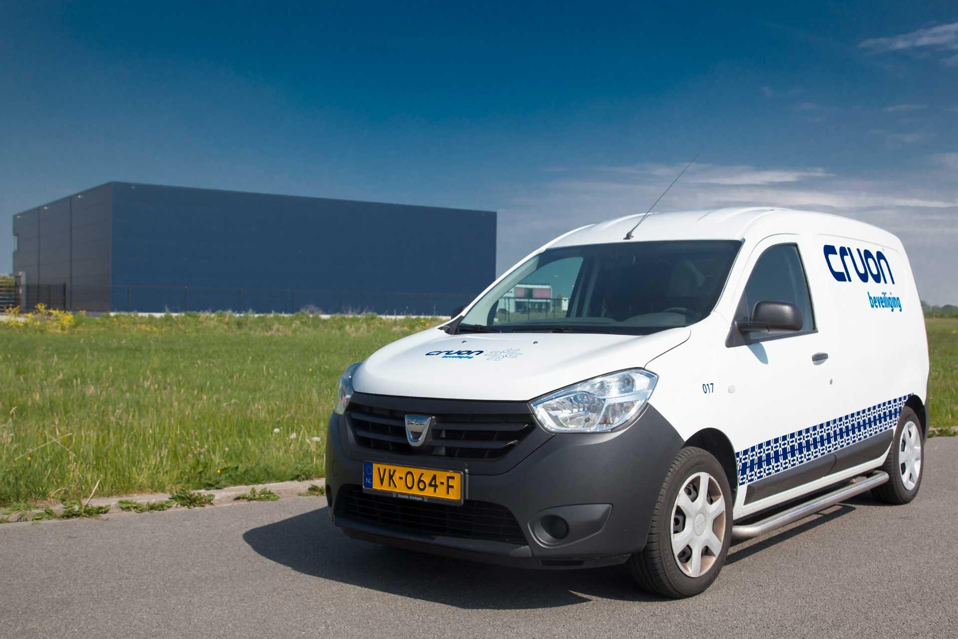 surveillance auto beveiligingsbedrijf Cruon