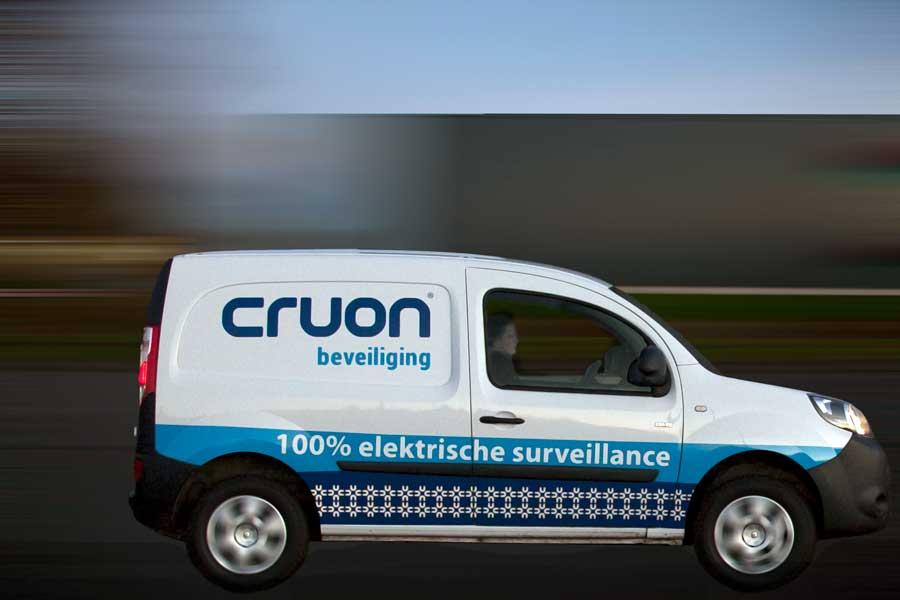 mobiele surveillance beveiligingsbedrijf Cruon Groningen